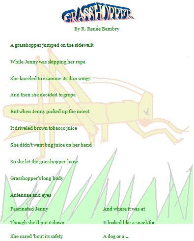 Grasshopper Poetry Designer Page